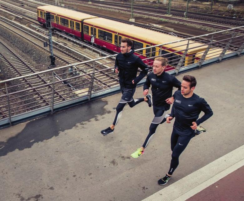 Heimat der Kraft Runners ist der Kiez um den S-Bahnhof Gesundbrunnen.