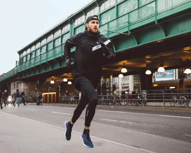 Prenzlauer Berg: Der Langläufer ist hier auch oft mit den Kraft Runners unterwegs